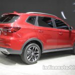Roewe RX5 rear three quarters right side at Auto China 2016