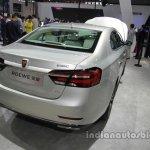 Roewe e950 rear three quarters at Auto China 2016