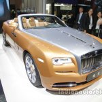 Rolls-Royce Dawn front three quarters at Auto China 2016