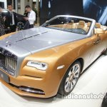 Rolls-Royce Dawn front three quarters left side at Auto China 2016