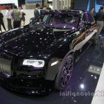 Rolls-Royce Ghost Black Badge front three quarters at Auto China 2016