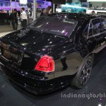 Rolls-Royce Ghost Black Badge rear three quarters at Auto China 2016