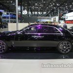 Rolls-Royce Ghost Black Badge side profile at Auto China 2016