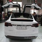 Tesla Model X at rear Auto China 2016