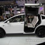 Tesla Model X side profile at Auto China 2016