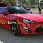 Toyota 86 Shooting Brake Concept front three quarter live images