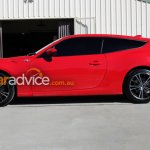 Toyota 86 Shooting Brake Concept side live images