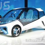 Toyota FCV Plus fro nt three quarters at Auto China 2016