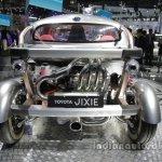 Toyota Jixie concept rear at Auto China 2016