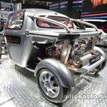 Toyota Jixie concept rear three quarters at Auto China 2016