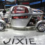 Toyota Jixie concept side profile at Auto China 2016