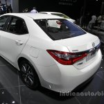 Toyota Levin rear three quarters left side at Auto China 2016