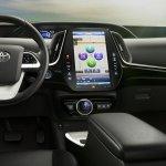 Toyota Prius Prime interior(PHEV) press image