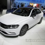 VW Bora 25th Anniversary Edition front three quarters at Auto China 2016