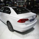VW Bora 25th Anniversary Edition rear three quarters at Auto China 2016