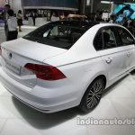 VW Bora 25th Anniversary Edition rear three quarters right side at Auto China 2016