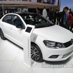 VW Jetta 25th Anniversary Edition front three quarters right side at Auto China 2016