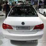 VW Jetta 25th Anniversary Edition rear at Auto China 2016