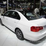 VW Jetta 25th Anniversary Edition rear three quarters left side at Auto China 2016