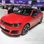 VW Lamando GTS front three quarters left side at Auto China 2016