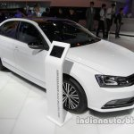 VW Sagitar 25th Anniversary Edition front three quarters at Auto China 2016