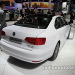 VW Sagitar 25th Anniversary Edition rear three quarters at Auto China 2016