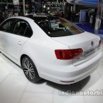 VW Sagitar 25th Anniversary Edition rear three quarters left side at Auto China 2016