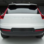Volvo Concept 40.1 rear live images
