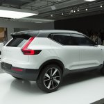 Volvo Concept 40.1 rear quarter live images