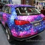 Zotye SR7 Star Edition at Auto China 2016 rear three quarters left side