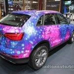 Zotye SR7 Star Edition at Auto China 2016 rear three quarters