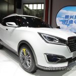 Zotye T300 front three quarters right side at Auto China 2016