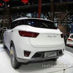 Zotye T300 rear three quarters at Auto China 2016