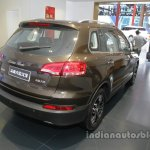 Zotye X5 at Auto China 2016 rear three quarters right side