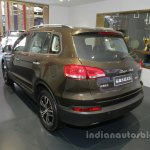 Zotye X5 at Auto China 2016 rear three quarters