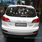 Zotye X5 white at Auto China 2016 rear