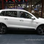 Zotye X5 white at Auto China 2016 side profile