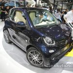 smart BRABUS fortwo front three quarters at Auto China 2016