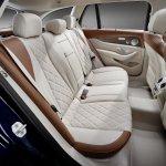 2016 Mercedes E-Class Estate interior rear seats