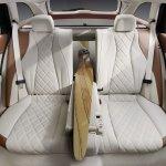 2016 Mercedes E-Class Estate rear seats front view