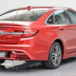 2016 Proton Perdana rear three quarter launched in Malaysia