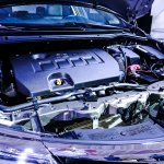2016 Toyota Corolla (facelift) engine bay Live Images