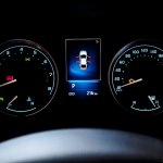 2016 Toyota Corolla (facelift) instrument cluster Live Images