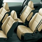 2016 Toyota Estima (facelift) seating layout
