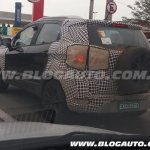 2017 Ford EcoSport facelift spied again
