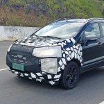 2017 Ford EcoSport (facelift) spy shot Brazil