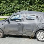 2017 Maruti Swift side spied in Germany