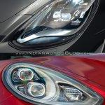 2017 Porsche Panamera vs. 2014 Porsche Panamera headlamp