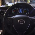 2017 Toyota Corolla Altis (facelift) dashboard driver side