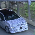 2018 Mercedes A-Class front three quarters spy shot